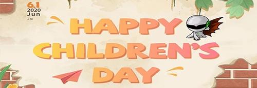 大小朋友们,6.1儿童节快乐